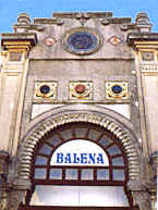 The 'Balena' bathing establishment