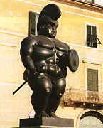 The warrior - Fernando Botero